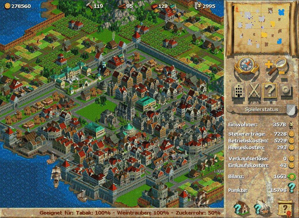 """[TEST] Anno 2070 VS SimCity """"Villes de Demains"""" Anno-1602-Petite-colonie-devenue-grande"""