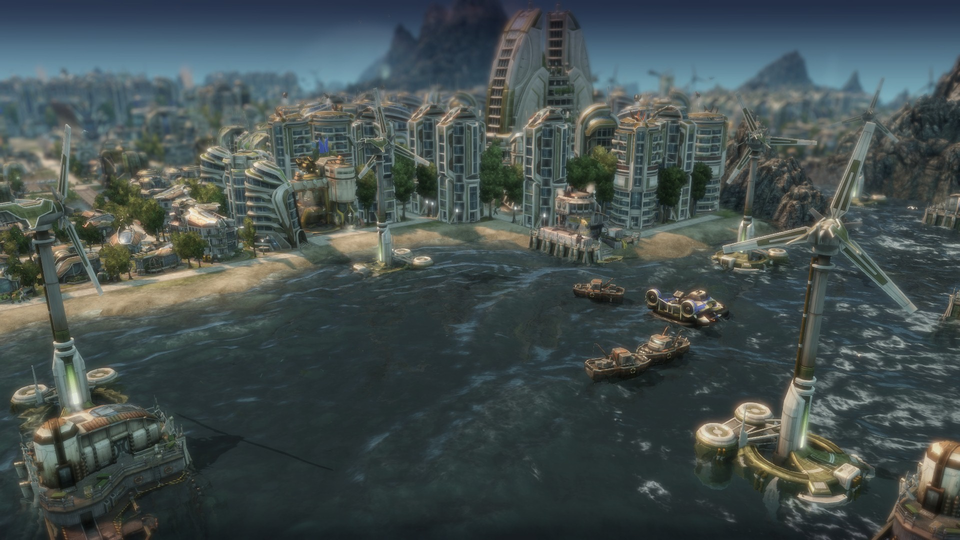 comment augmenter impot anno 2070