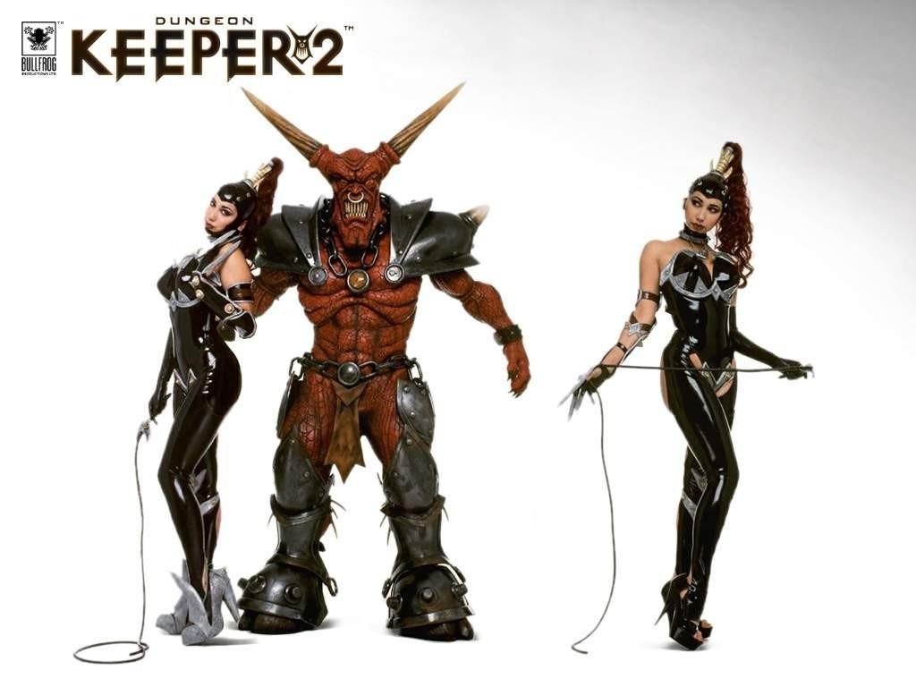 Dungeon-Keeper-2-Fond-d-ecran-maitresses